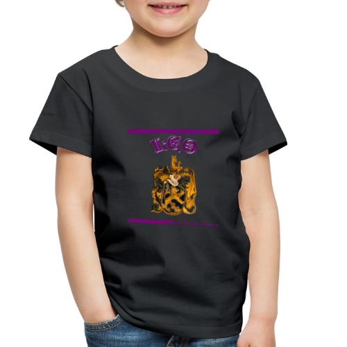 LEO PURPLE - Toddler Premium T-Shirt