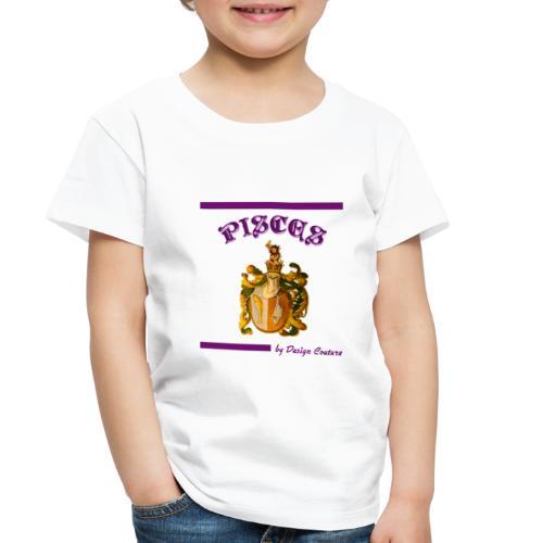 PISCES PURPLE - Toddler Premium T-Shirt