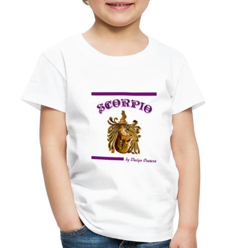 SCORPIO PURPLE - Toddler Premium T-Shirt
