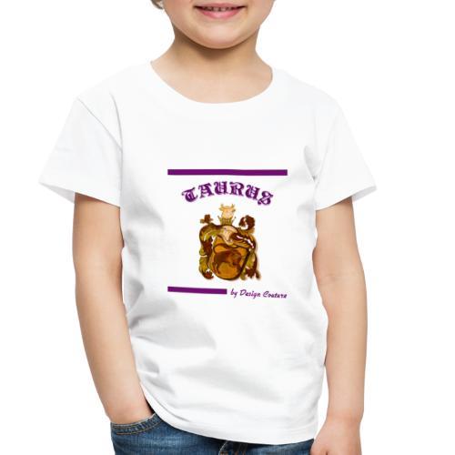 TAURUS PURPLE - Toddler Premium T-Shirt