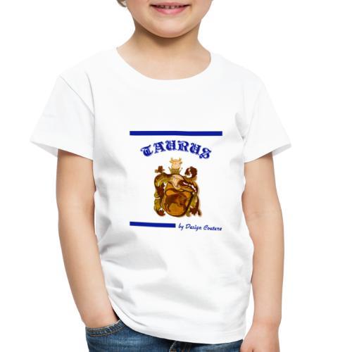 TAURUS BLUE - Toddler Premium T-Shirt