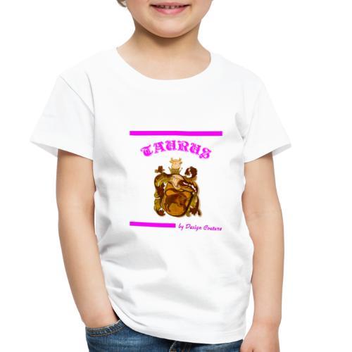 TAURUS PINK - Toddler Premium T-Shirt