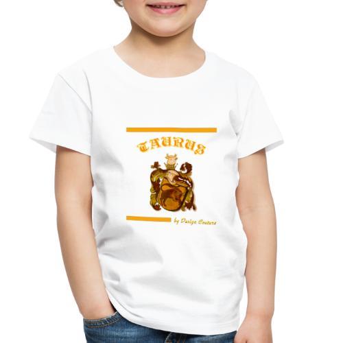 TAURUS ORANGE - Toddler Premium T-Shirt