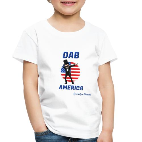DAB AMERICA BLUE - Toddler Premium T-Shirt
