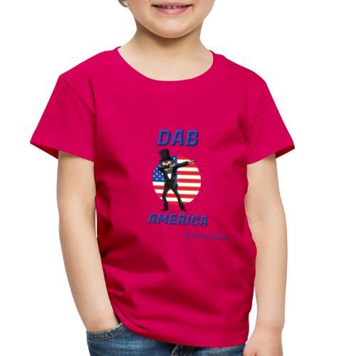 DAB AMERICA BLUE - Toddler Premium T-Shirt