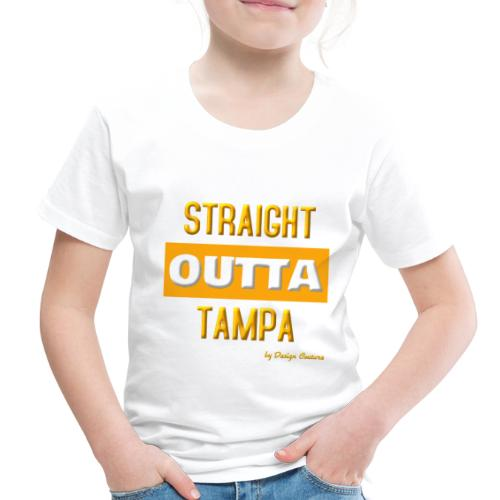 STRAIGHT OUTTA TAMPA ORANGE - Toddler Premium T-Shirt
