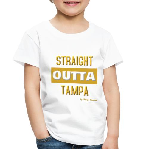 STRAIGHT OUTTA TAMPA GOLD - Toddler Premium T-Shirt