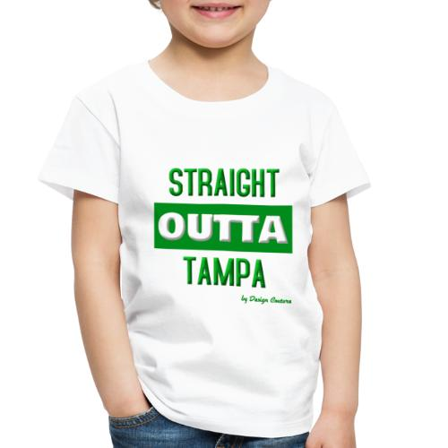 STRAIGHT OUTTA TAMPA GREEN - Toddler Premium T-Shirt