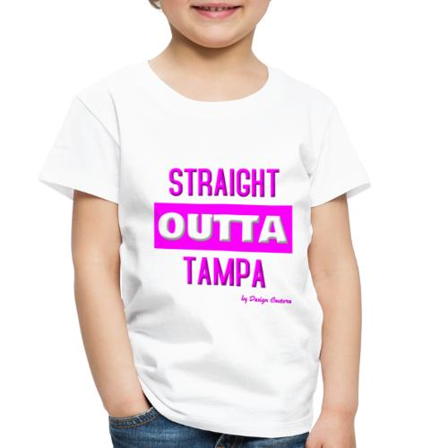 STRAIGHT OUTTA TAMPA PINK - Toddler Premium T-Shirt
