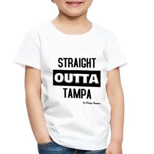 STRAIGHT OUTTA TAMPA BLACK - Toddler Premium T-Shirt