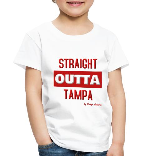 STRAIGHT OUTTA TAMPA RED - Toddler Premium T-Shirt