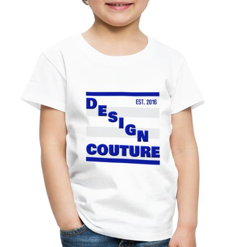 DESIGN COUTURE EST 2016 BLUE - Toddler Premium T-Shirt