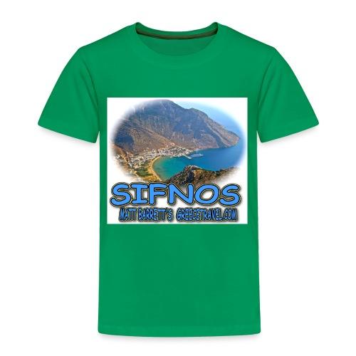 SIFNOS KAMARES jpg - Toddler Premium T-Shirt