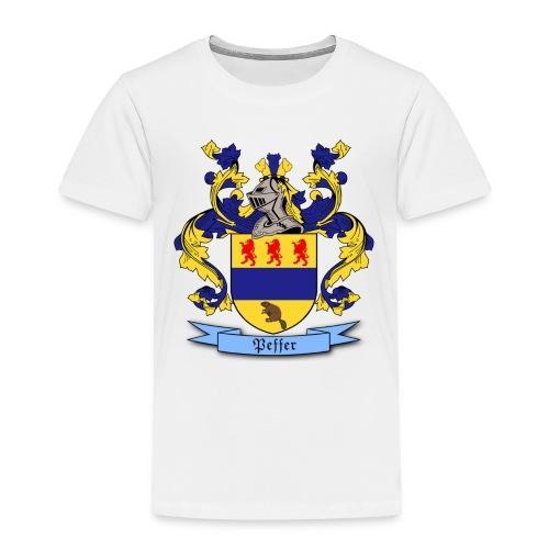Peffer Family Crest - Toddler Premium T-Shirt