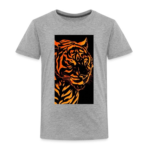 Fire tiger - Toddler Premium T-Shirt