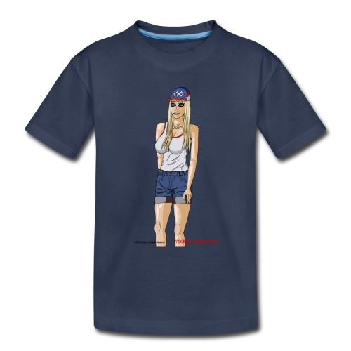 Gina Character Design - Toddler Premium T-Shirt