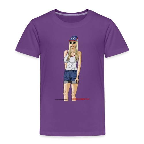Gina Character Design - Toddler Premium T-Shirt