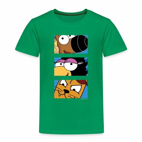 Rantdog Trio - Toddler Premium T-Shirt