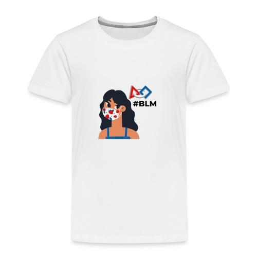 #BLM FIRST Girl Supporter - Toddler Premium T-Shirt