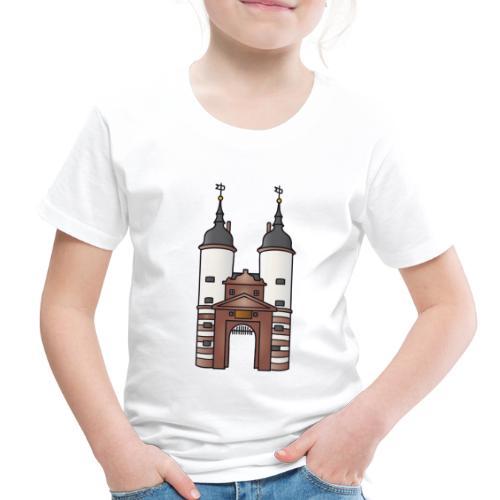 Bridge gate Heidelberg, FRG - Toddler Premium T-Shirt