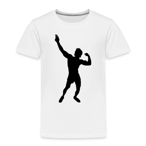Zyzz Silhouette vector - Toddler Premium T-Shirt