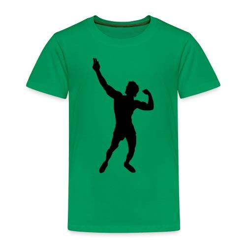 Zyzz Silhouette vector - Toddler Premium T-Shirt