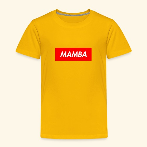 Supreme Mamba - Toddler Premium T-Shirt