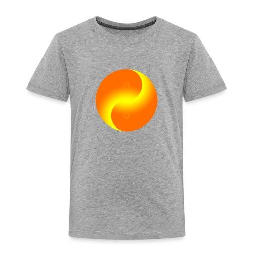 Yin Yang fire - Toddler Premium T-Shirt