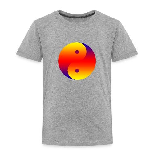 Yin Yang colorful - Toddler Premium T-Shirt
