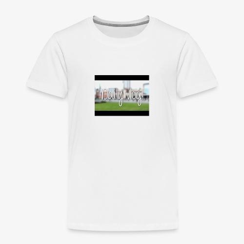 Dailyvlogs let's go - Toddler Premium T-Shirt