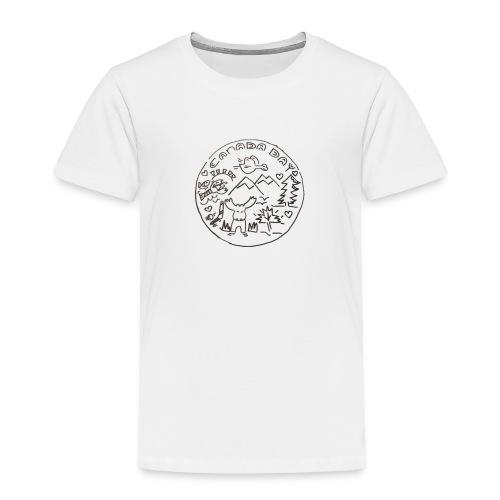 Canada Day - Toddler Premium T-Shirt