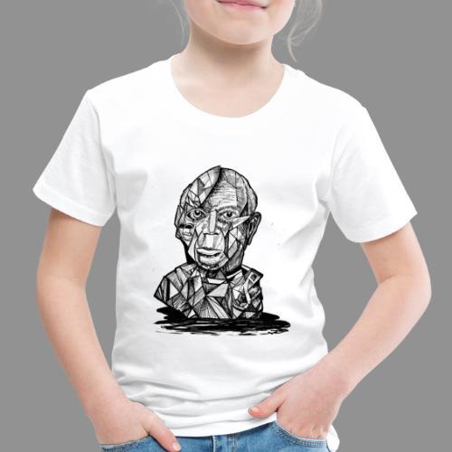 Wolfman Originals Black & White 21 - Toddler Premium T-Shirt
