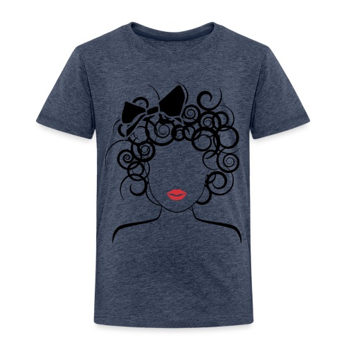Global Couture logo_curly girl Women's T-Shirts - Toddler Premium T-Shirt