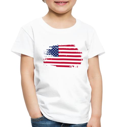 usa america american flag - Toddler Premium T-Shirt