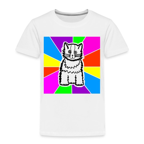 cat shirt wednesday - Toddler Premium T-Shirt