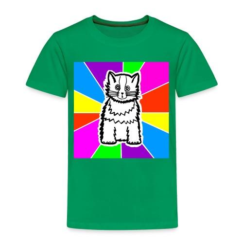cat shirt wednesday - Toddler Premium T-Shirt