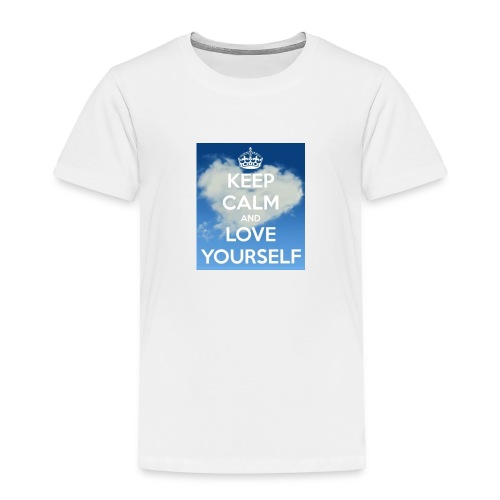 Keep calm and love yourself - Toddler Premium T-Shirt