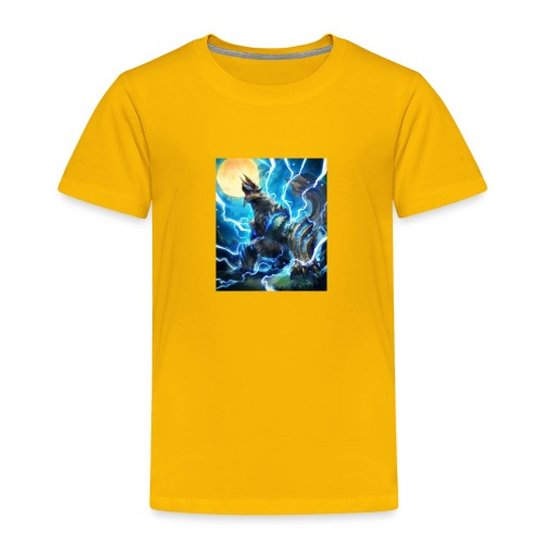 Blue lighting dragom - Toddler Premium T-Shirt