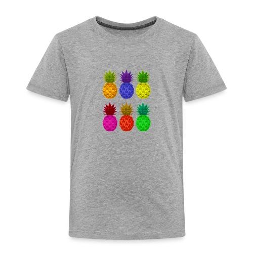 pineapples - Toddler Premium T-Shirt