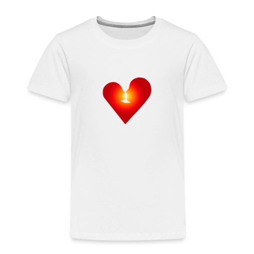 Loving heart - Toddler Premium T-Shirt