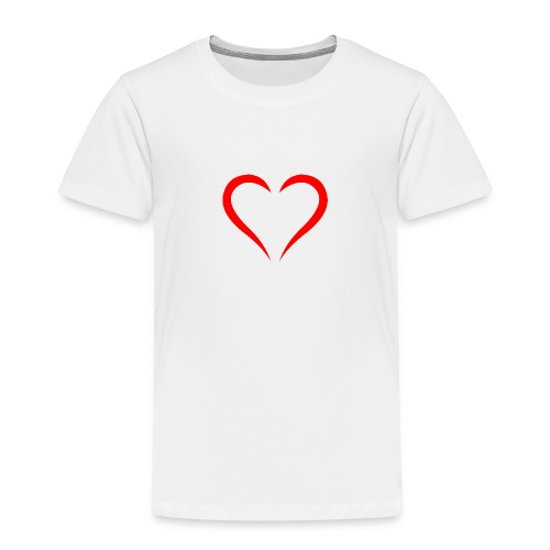 open heart - Toddler Premium T-Shirt