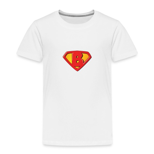 Super B letters - Toddler Premium T-Shirt