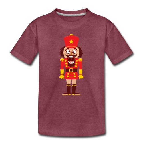A Christmas nutcracker is a tooth cracker - Toddler Premium T-Shirt