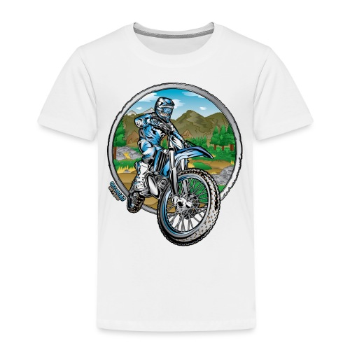 Supercross Motocross Shirt - Toddler Premium T-Shirt
