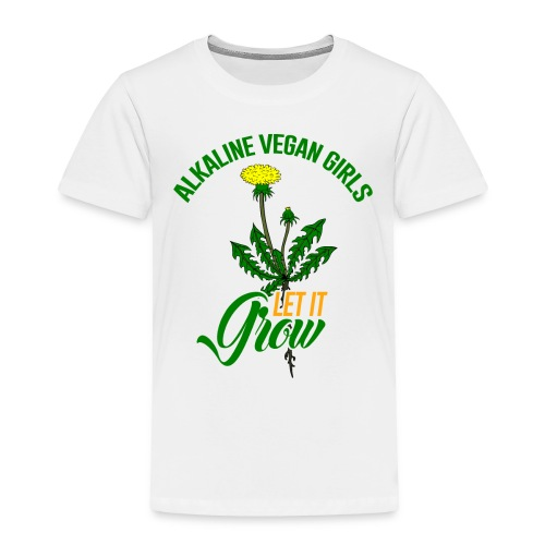 Alkaline Vegan Girls Women's T-Shirt - Toddler Premium T-Shirt