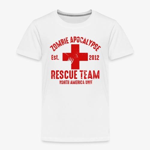 Zombie Rescue Halloween Shirt - Toddler Premium T-Shirt