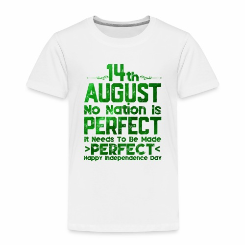 14th August Independence Day - Toddler Premium T-Shirt