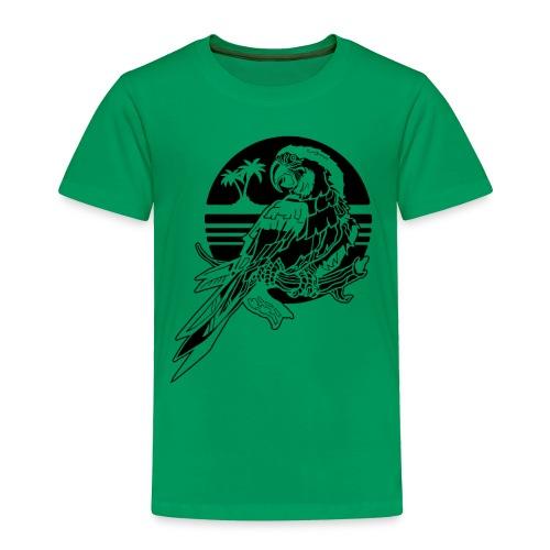 Tropical Parrot - Toddler Premium T-Shirt