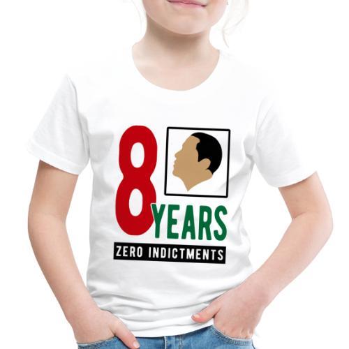 Obama Zero Indictments - Toddler Premium T-Shirt