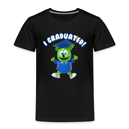 I Graduated! Gummibar (The Gummy Bear) - Toddler Premium T-Shirt